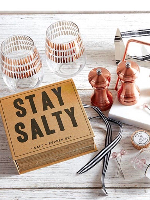 Stay Salty Salt And Pepper Set