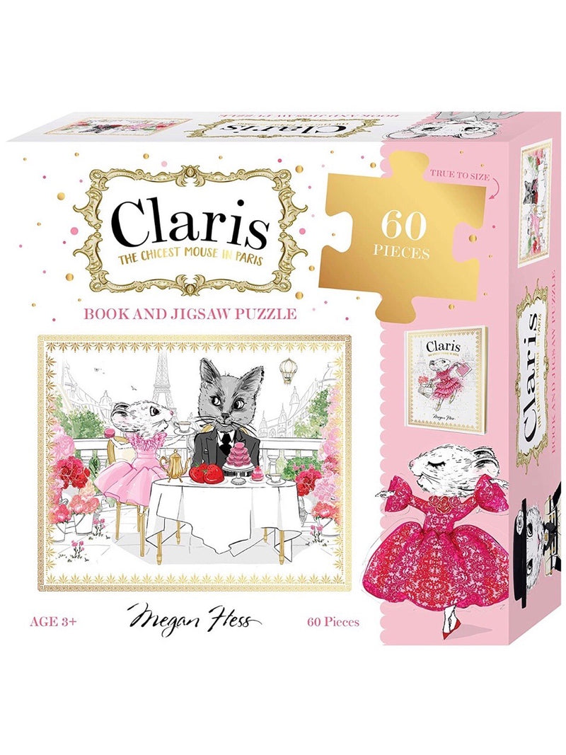 Claris in Paris Book & Puzzle Set