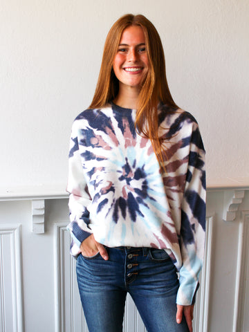 Lover Tie Dye Sweater