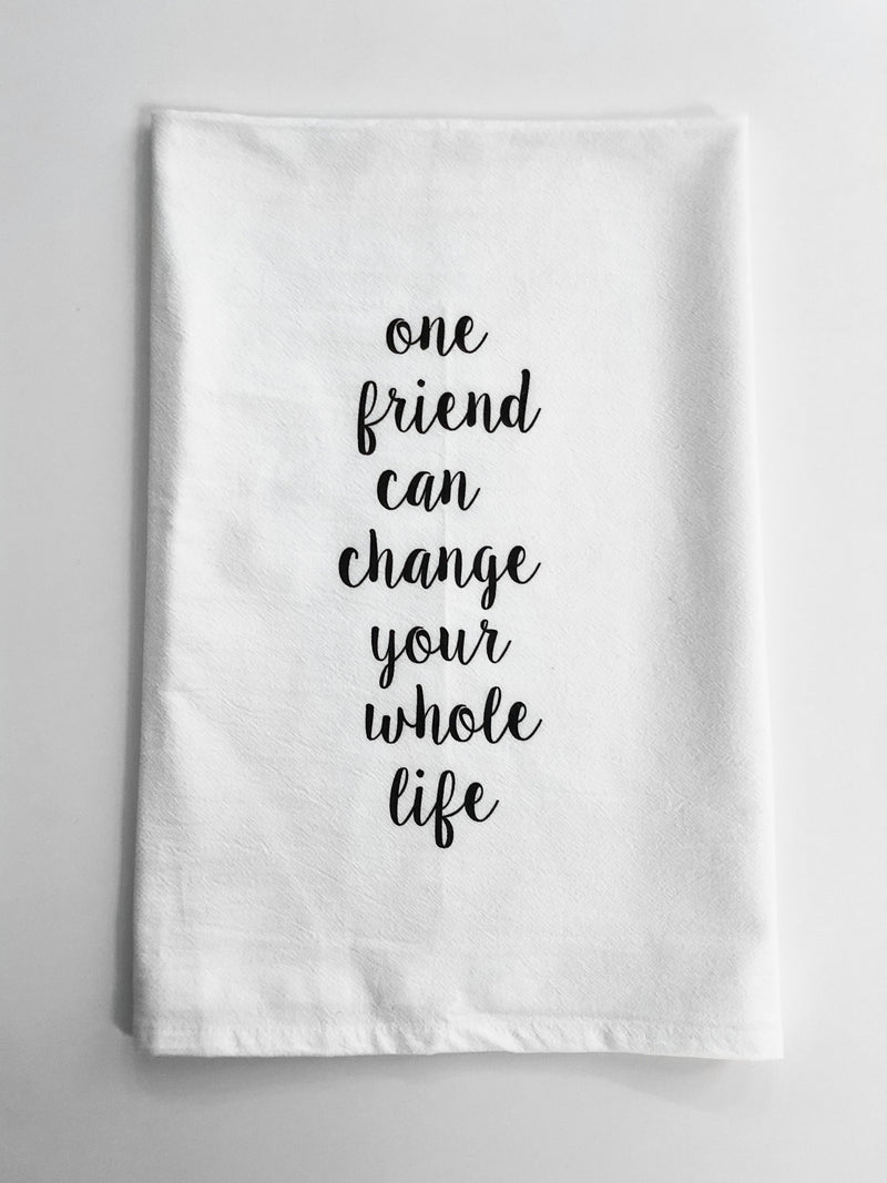 Life Changing Flour Sack Towel