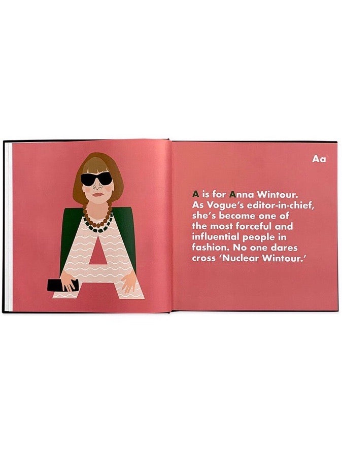 Fashion Legends Alphabet Book