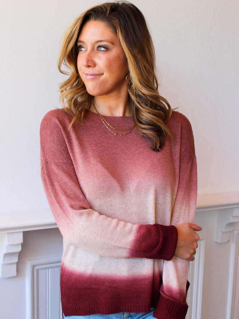 Take A Dip Cashmere Sweater