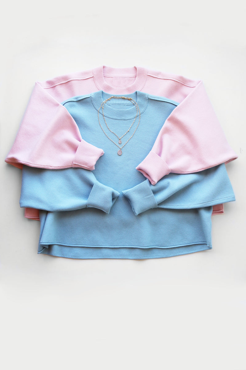 Springtime Sweater - Light Blue