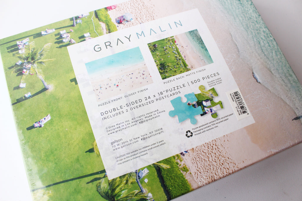 Gray Malin Hawaii Two-Sided Puzzle