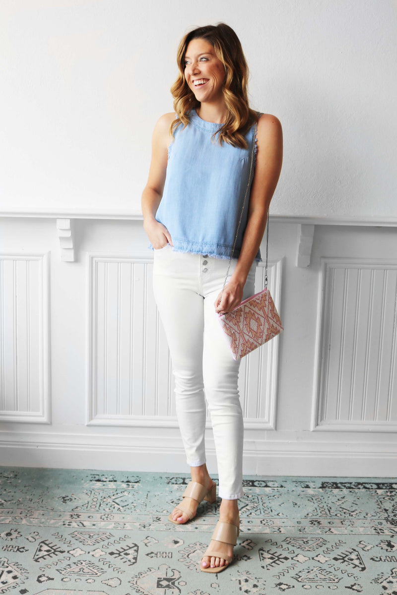 Haven Denim Tank