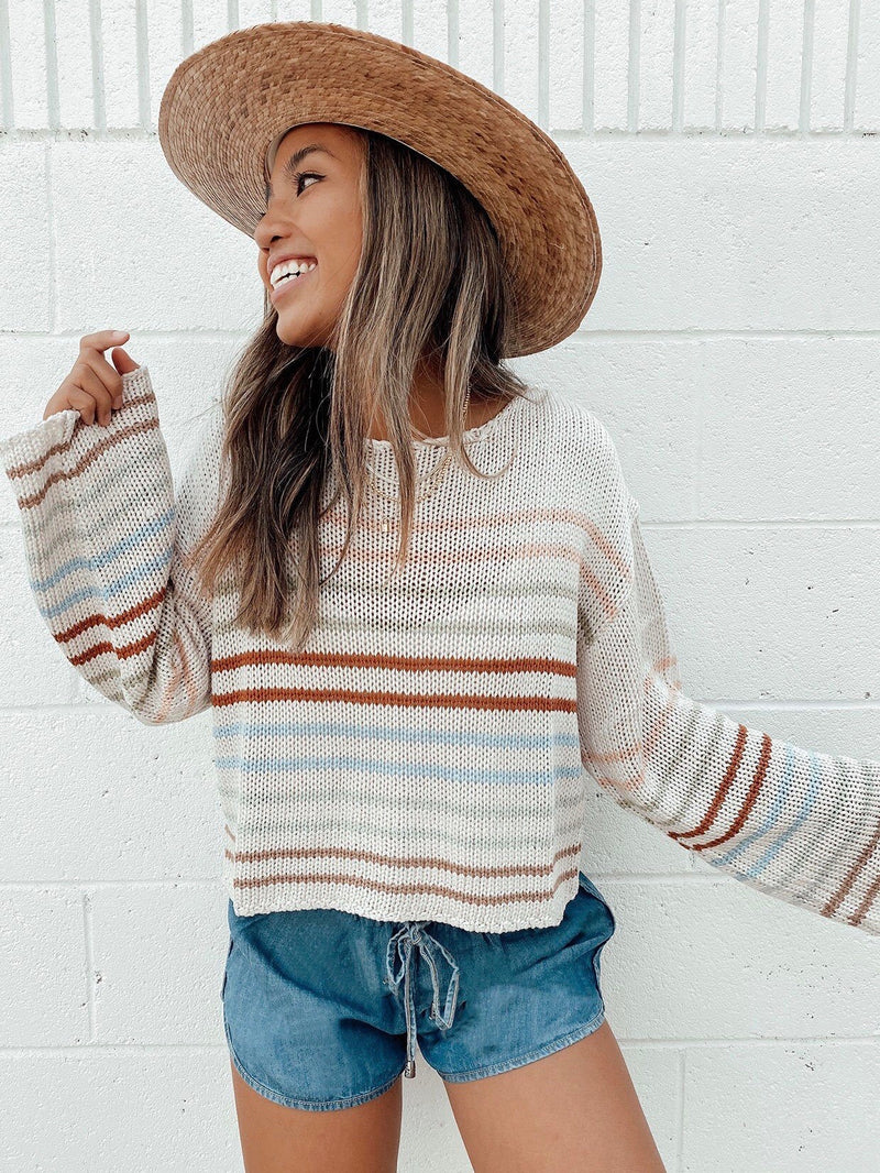 Lake Shore Knit Pullover