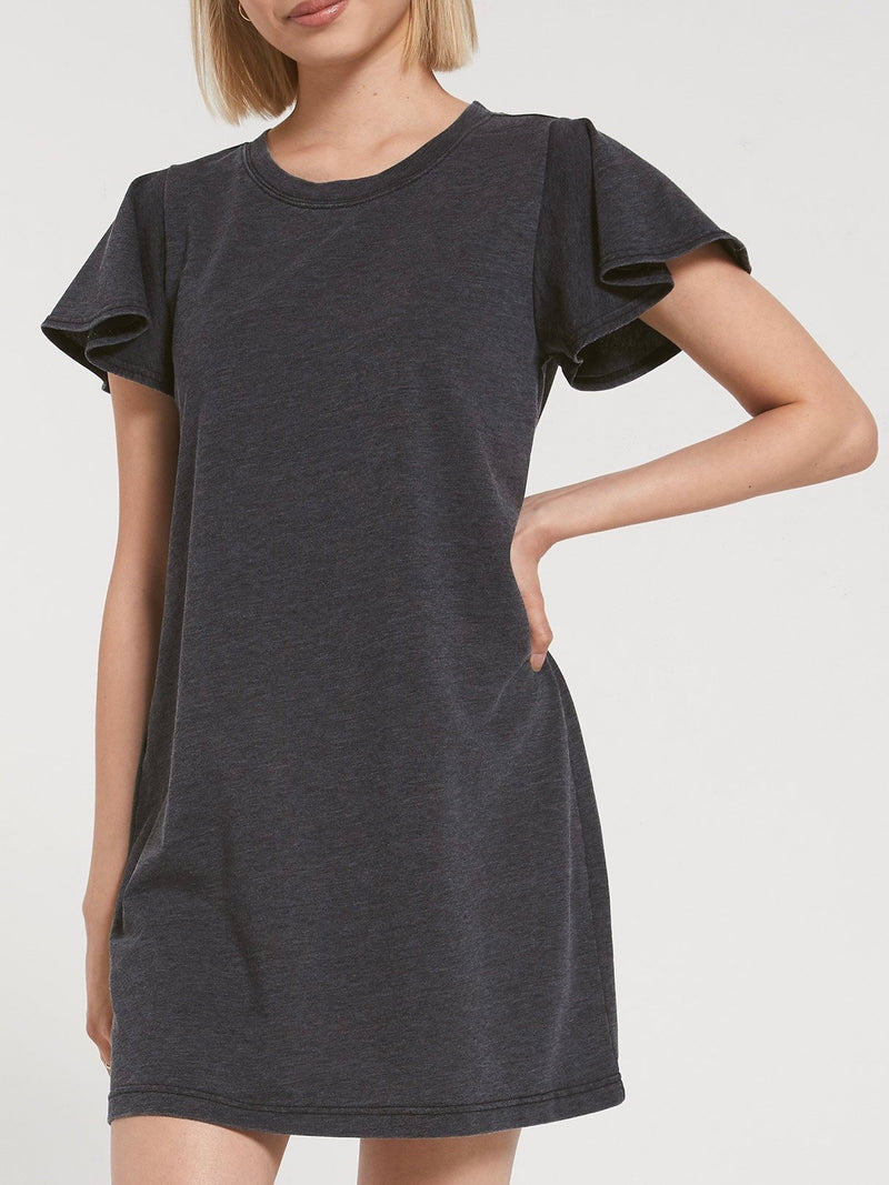 Farren T-Shirt Dress - Dark Navy