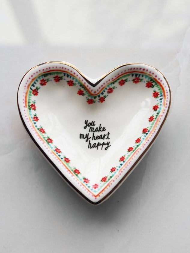 Happy Heart Trinket Dish
