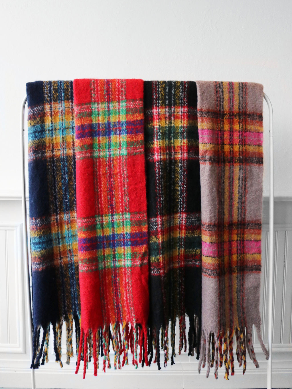 Mad For Plaid Scarf- Assorted - FINAL SALE