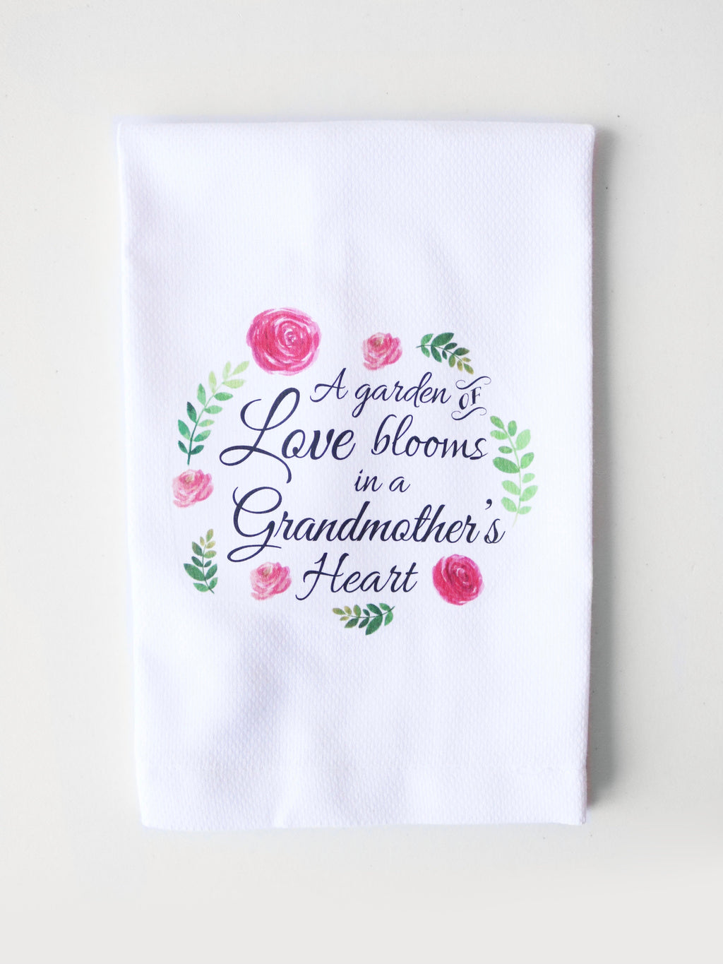 Grandmother's Heart Tea Towel