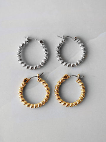 Molly Bracelet Set- Grey