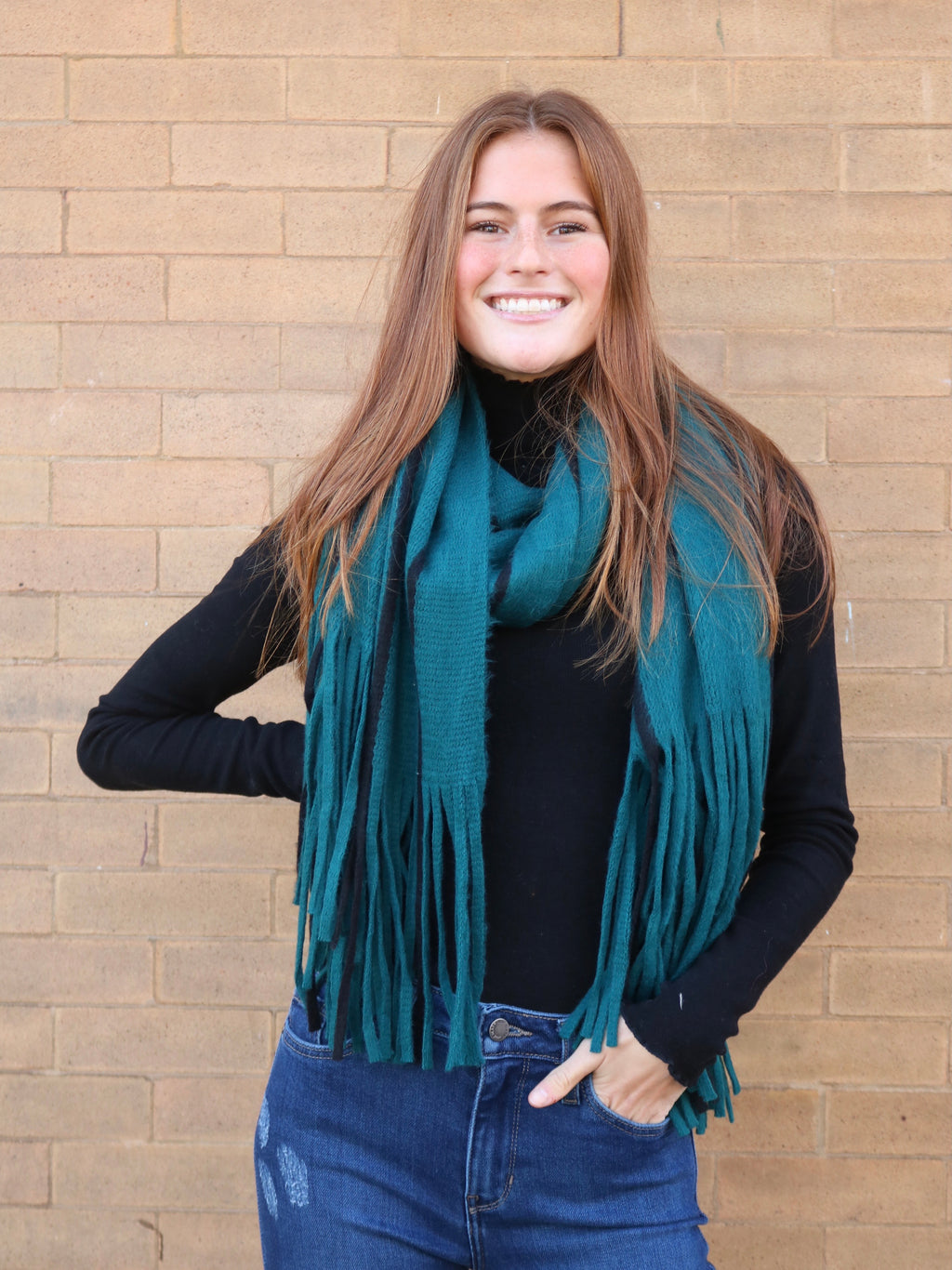 On The Fringe Scarf - FINAL SALE