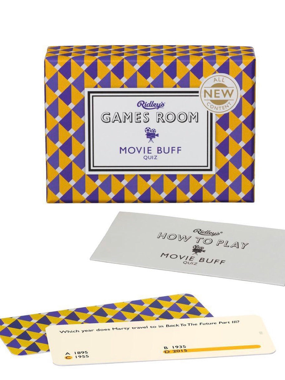 Movie Buff Trivia Quiz Game