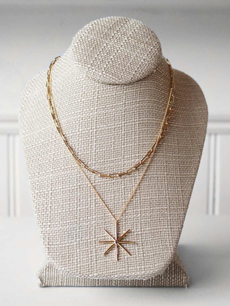 Star Asterisk Layering Necklace