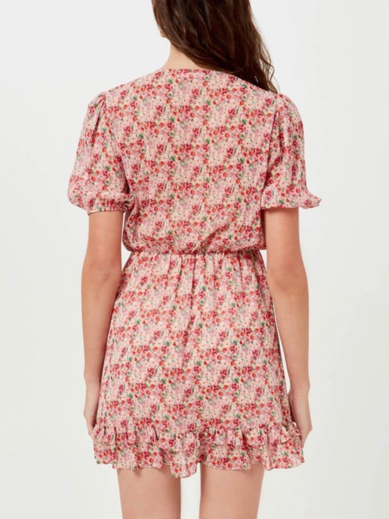 In Full Bloom Ruffle Dress