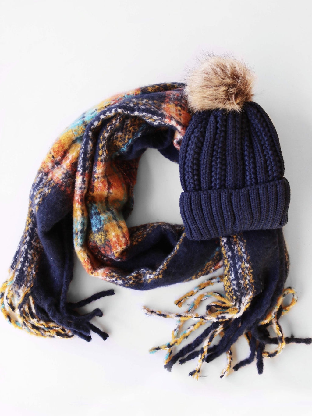 Mad For Plaid Scarf- Assorted
