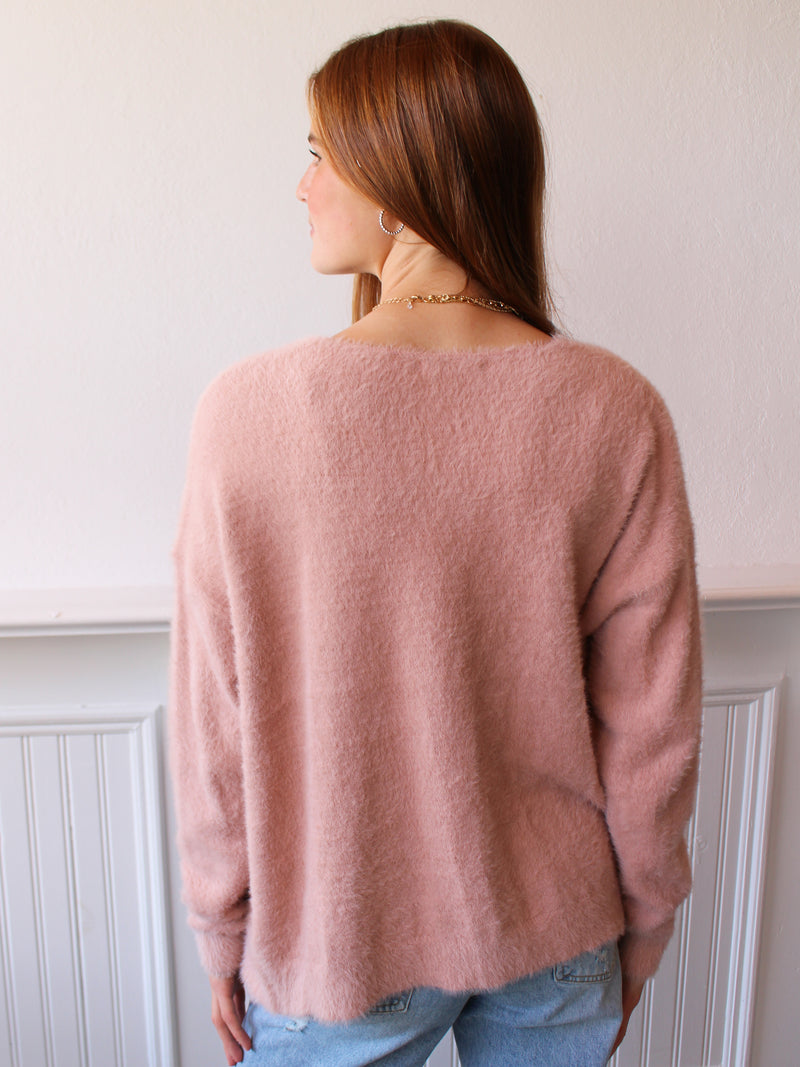 Sweet Dreams Cardigan - Blush