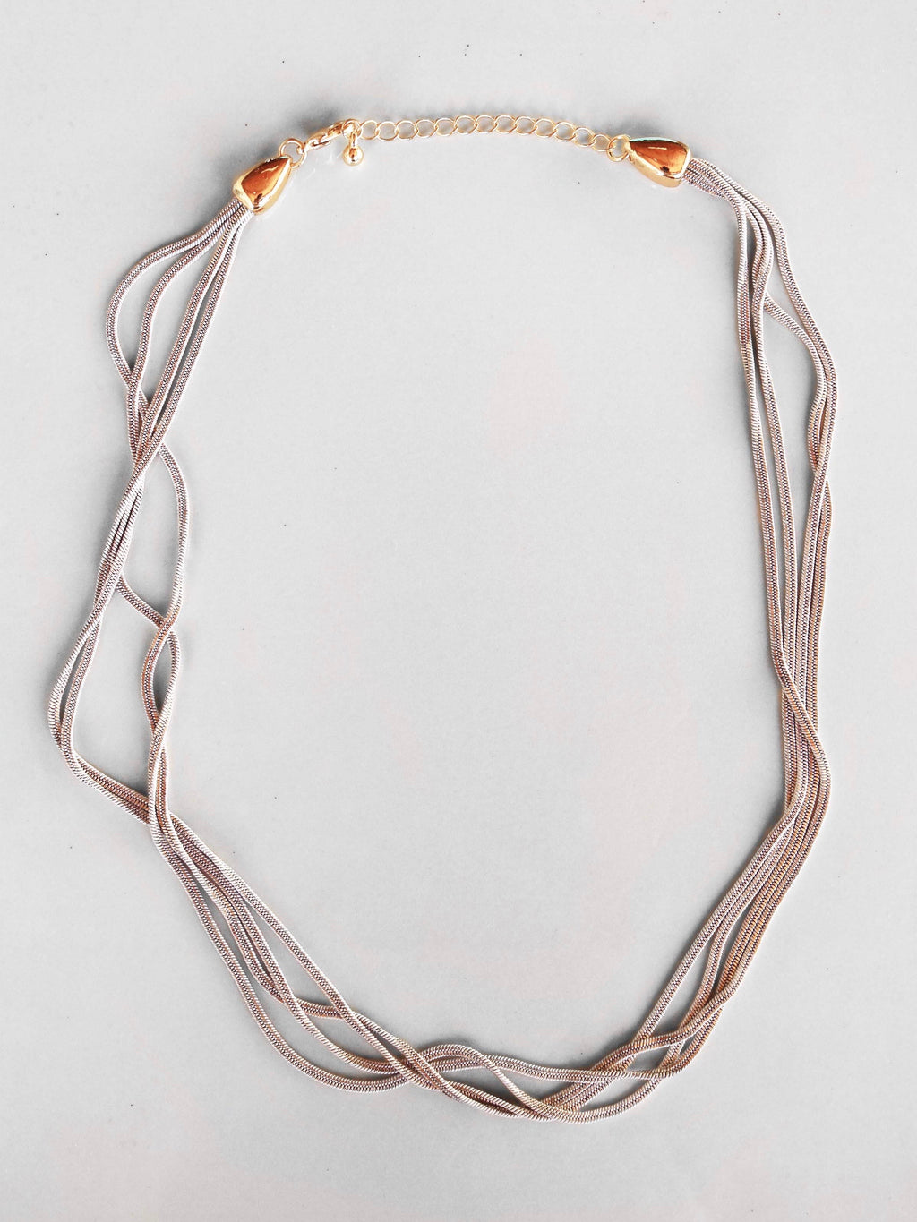 Silver Lining Layered Necklace