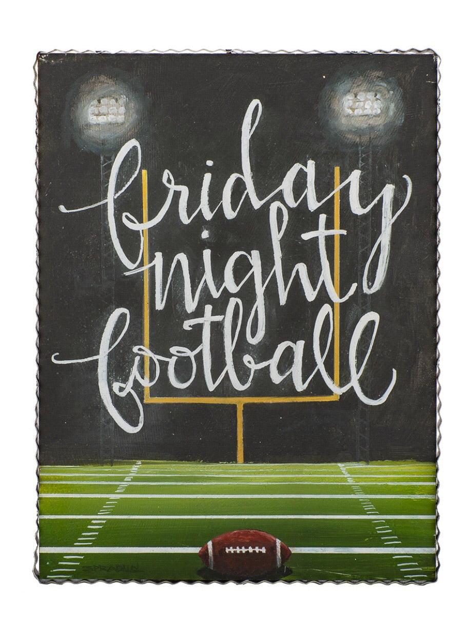 Friday Night Football Print