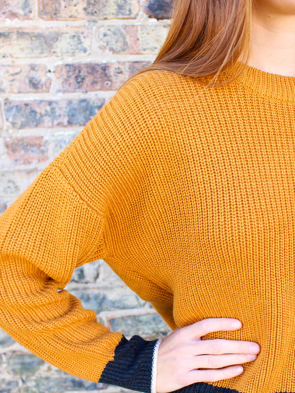 Worth It Sweater - Mustard