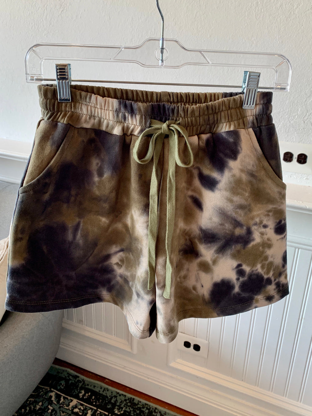 In A Groove Tie Dye Shorts