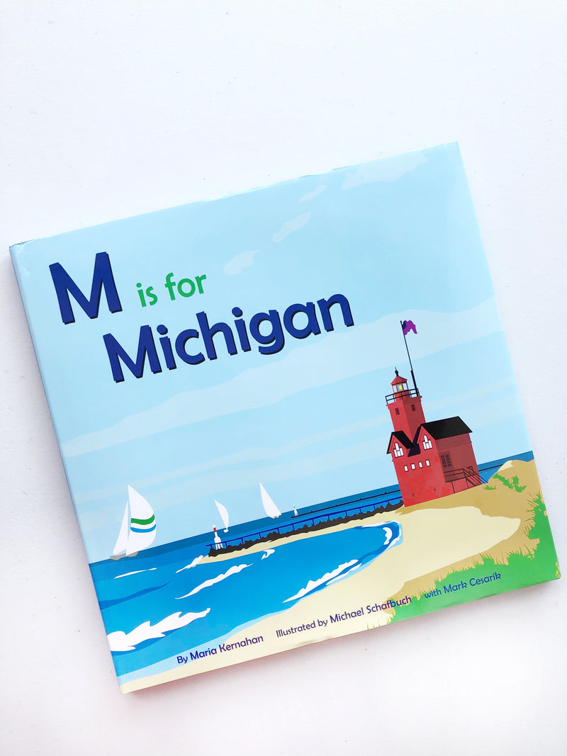 M Is For Michigan Book
