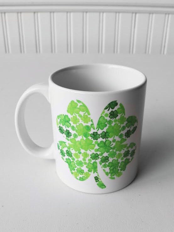 Shamrock Collage Mug