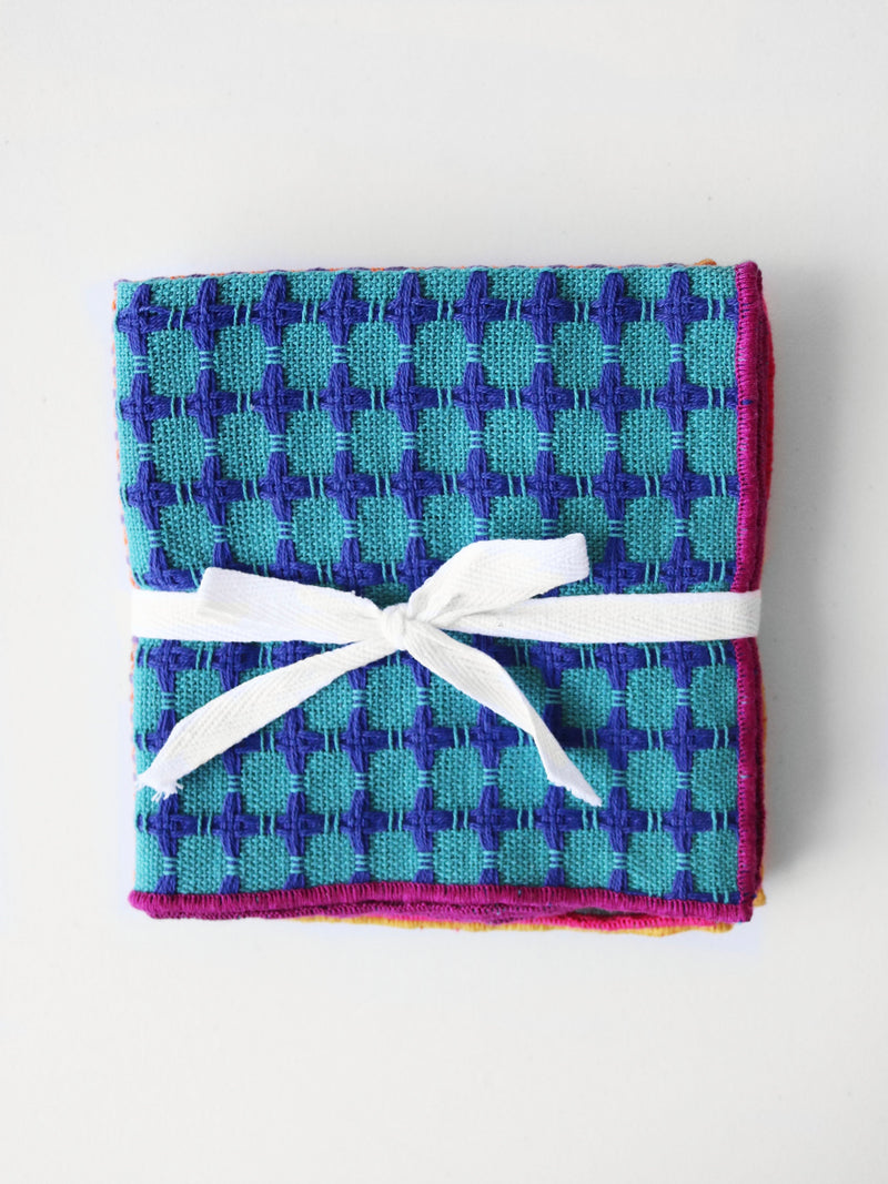 Woven Kitchen Towels Set of 4