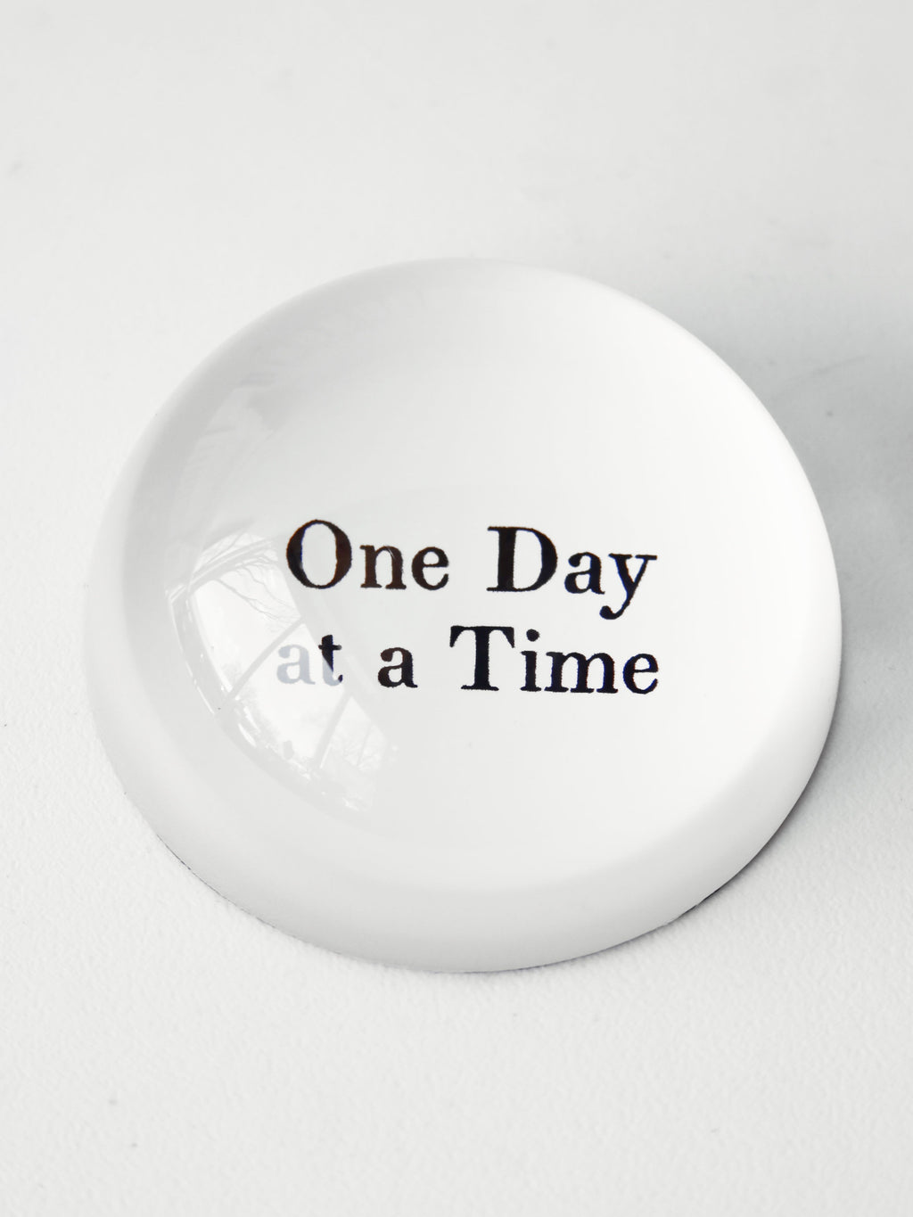 One Day At A Time Paper Weight