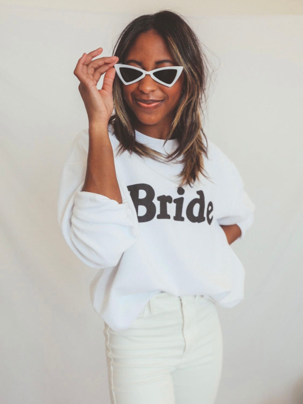 Bride Corded Sweatshirt