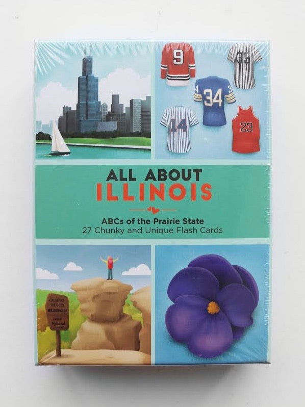 All About Illinois Flash Cards