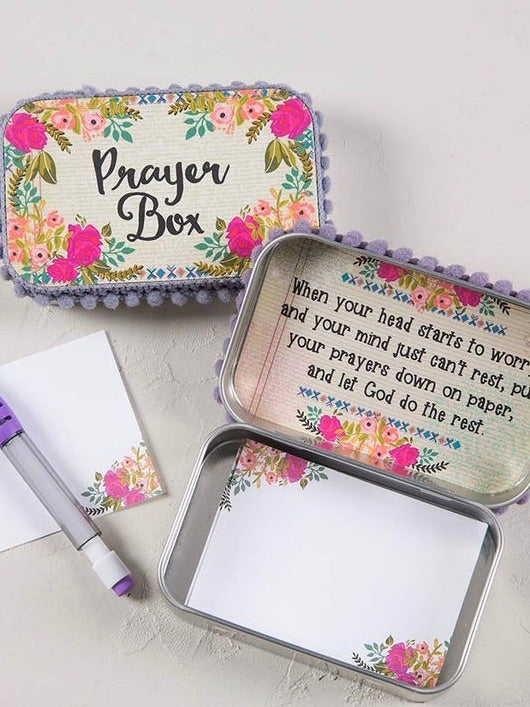Floral Prayer Box