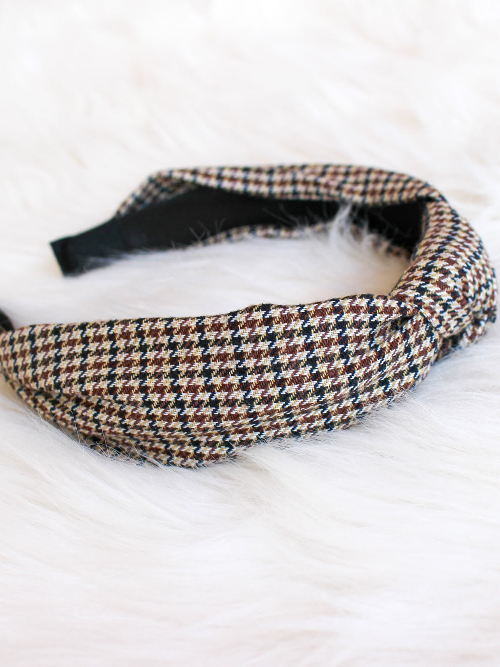 Herringbone Top Knot Headband