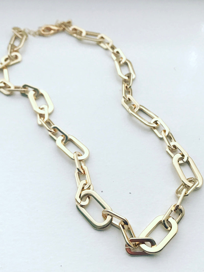 Power Chain Link Necklace