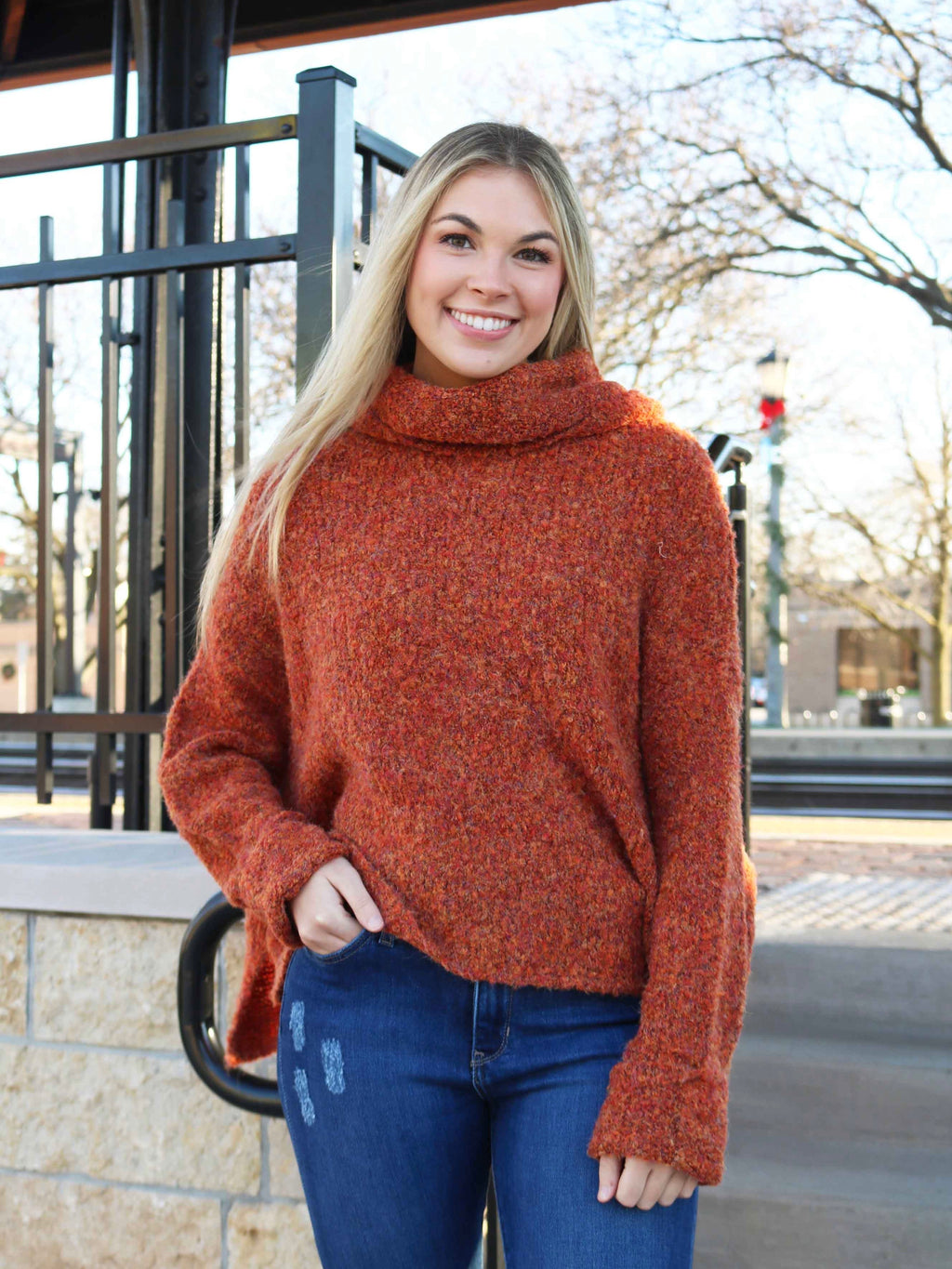Scenic Route Turtleneck Sweater