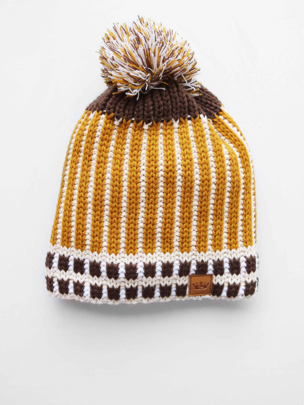 Smitten For You Beanie- Mustard - FINAL SALE