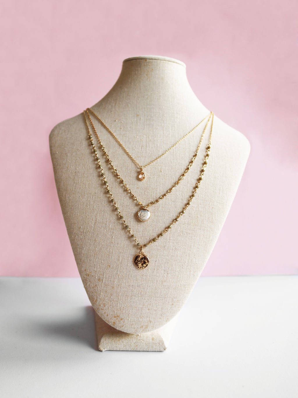 Third Times A Charm Layered Necklace