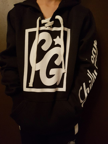 Black and White Chilly Gear Hoodie