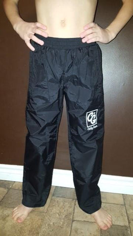 Black Chilly Gear Warm-up Pants