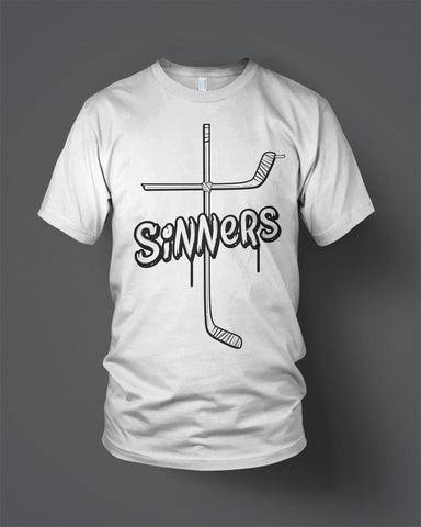 Pre Order now Available White Sinners T-shirt