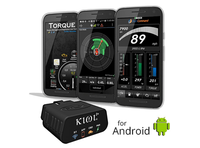 Kiwi 2+ OBD reader for android PLX Devices | fuelsavingguys.net