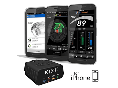 Kiwi 2+ for Iphone - OBD2 Scanners, Fuel Saving Guys - Fuel Saving Guys,  PLX Devices, OBDLink, FIXD, Thinkware, Palmer performance, BlackVue, Kiwi 3, OBDLink MX, OBDLink LX, Scan XL, Fuelsavingguys, Dash cams, dash cameras, blackboxmycar,