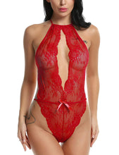 Load image into Gallery viewer, Avidlove Lingerie for Women Teddy One Piece Lace Babydoll Bodysuit