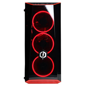 CYBERPOWERPC Gamer Xtreme VR GXiVR8020A6 Gaming PC (Intel Core i5-9400F 2.9GHz, 8GB DDR4, AMD Radeon RX 580 4GB, 1TB HDD, 802.11AC WiFi, Win10 Home) Black