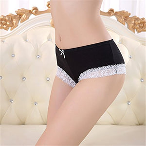 Cotton Panty with Lace Yes Daddy Hipster Cheeky Panty