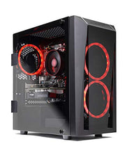 Load image into Gallery viewer, SkyTech Blaze II Gaming Computer PC Desktop – Ryzen 5 2600 6-Core 3.4 GHz, NVIDIA GeForce GTX 1660 6G, 500G SSD, 8GB DDR4, RGB, AC WiFi, Windows 10 Home 64-bit
