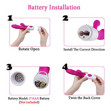 Load image into Gallery viewer, Wireless Cordless 30-Speed Ràbbit Vǐbrǎtǒrs Dual Motor Massager, Waterproof & Ultra-Slient