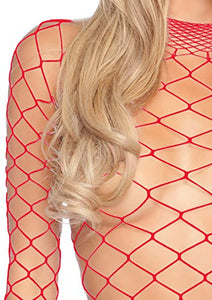 Leg Avenue Fence Fishnet Bodysuit and Panty
