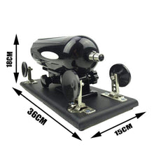 Load image into Gallery viewer, QJ Automatic Inserting Apparatus Telescopic Gùn Machine with 7 Toys Attachments (Black)