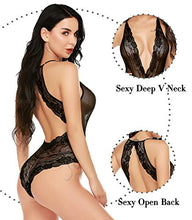 Load image into Gallery viewer, Avidlove Lingerie for Women Lace Bodysuit Sexy Teddy Lingerie Set